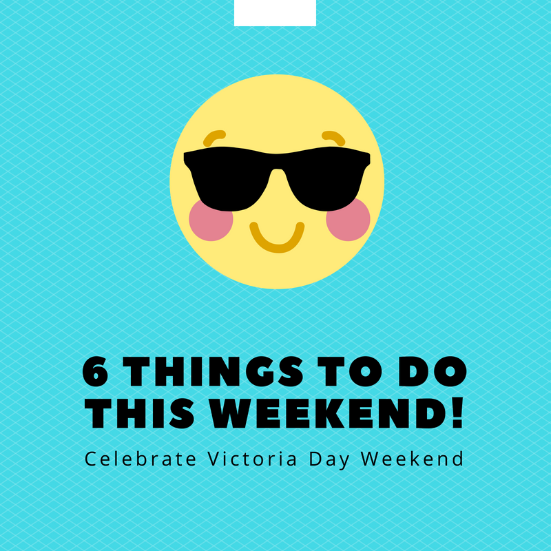 6 things to do this weekend