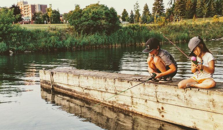 Shoreline fishing