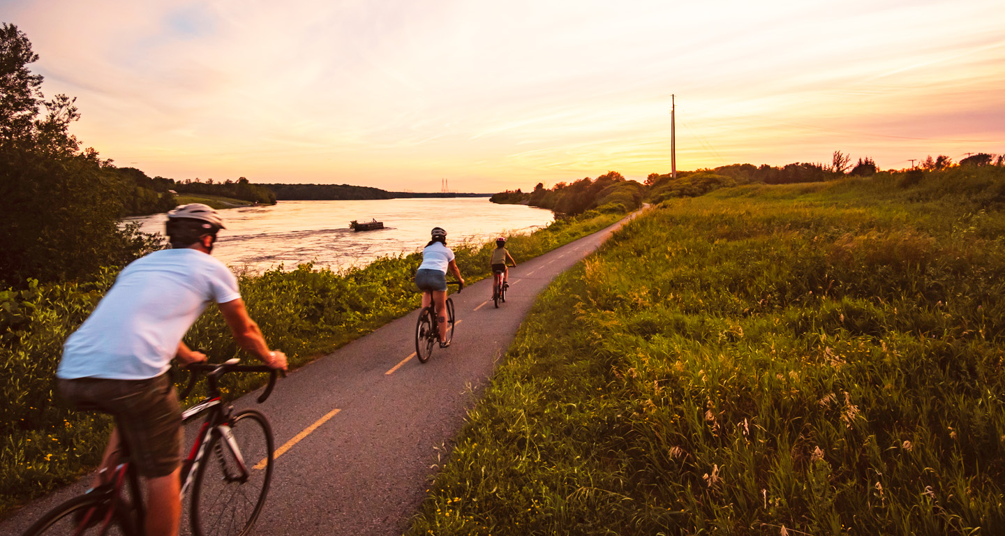 Waterfront Trail Cycling
