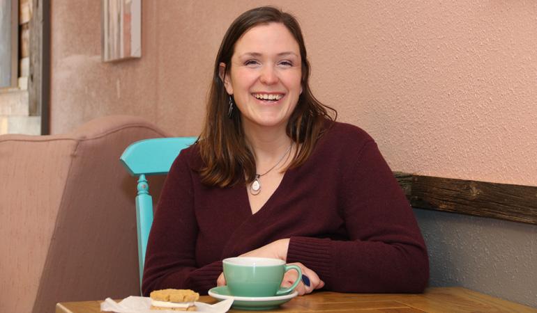 Vanessa Leduc of Cornwall Food Tours, 2020 Spark winner